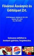 Fővárosi Ásványvíz és Üdítőipari Zrt.
